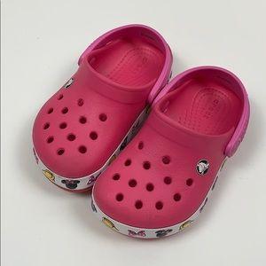 MINNIE MOUSE CROCS Toddler Shoes